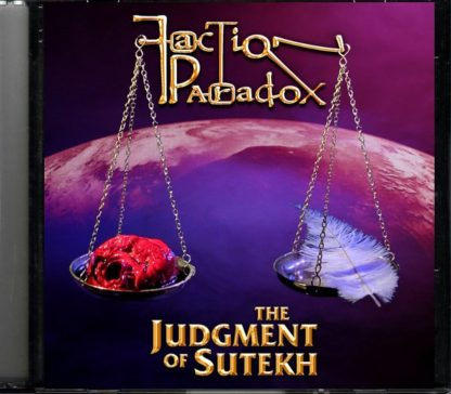 Judgement of Sutekh cd cover