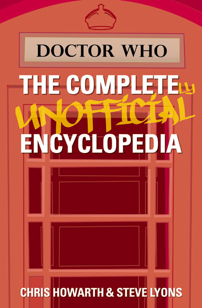 Doctor Who The Completely Unofficial Encyclopedia